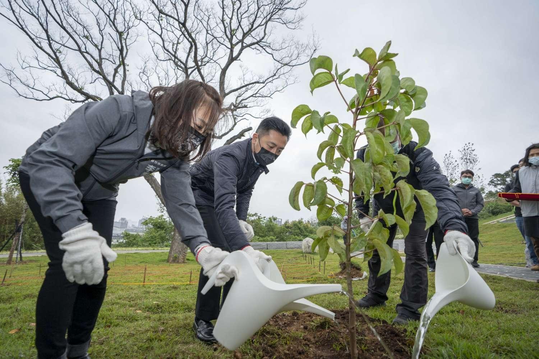 新竹市第一座環保自然葬園區「詠生樹」上月開園